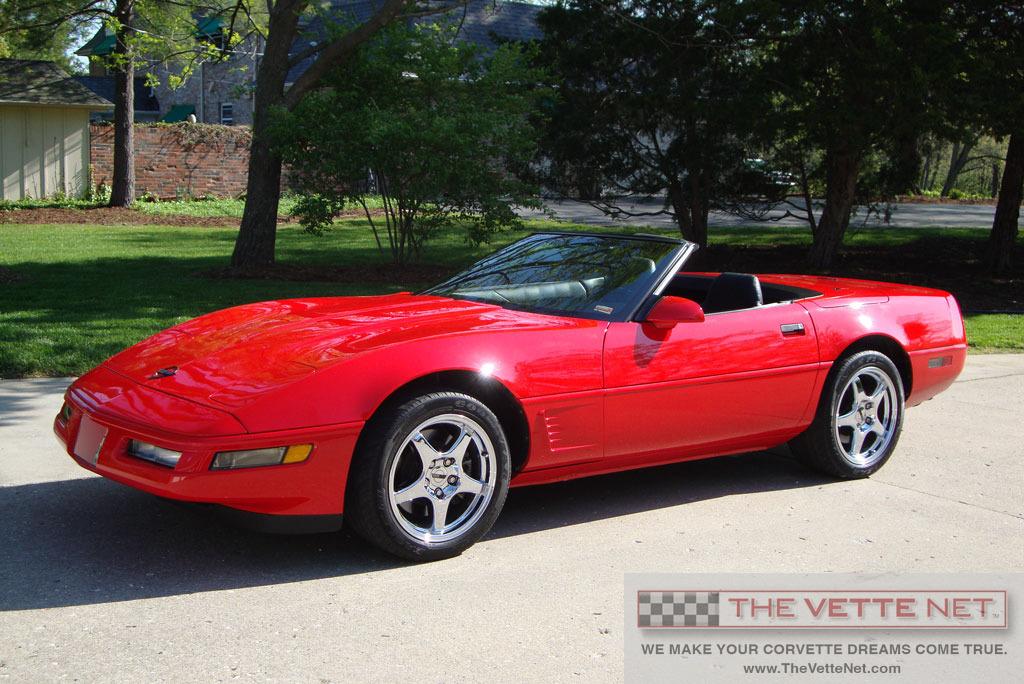 1996 Convertible Corvette Details