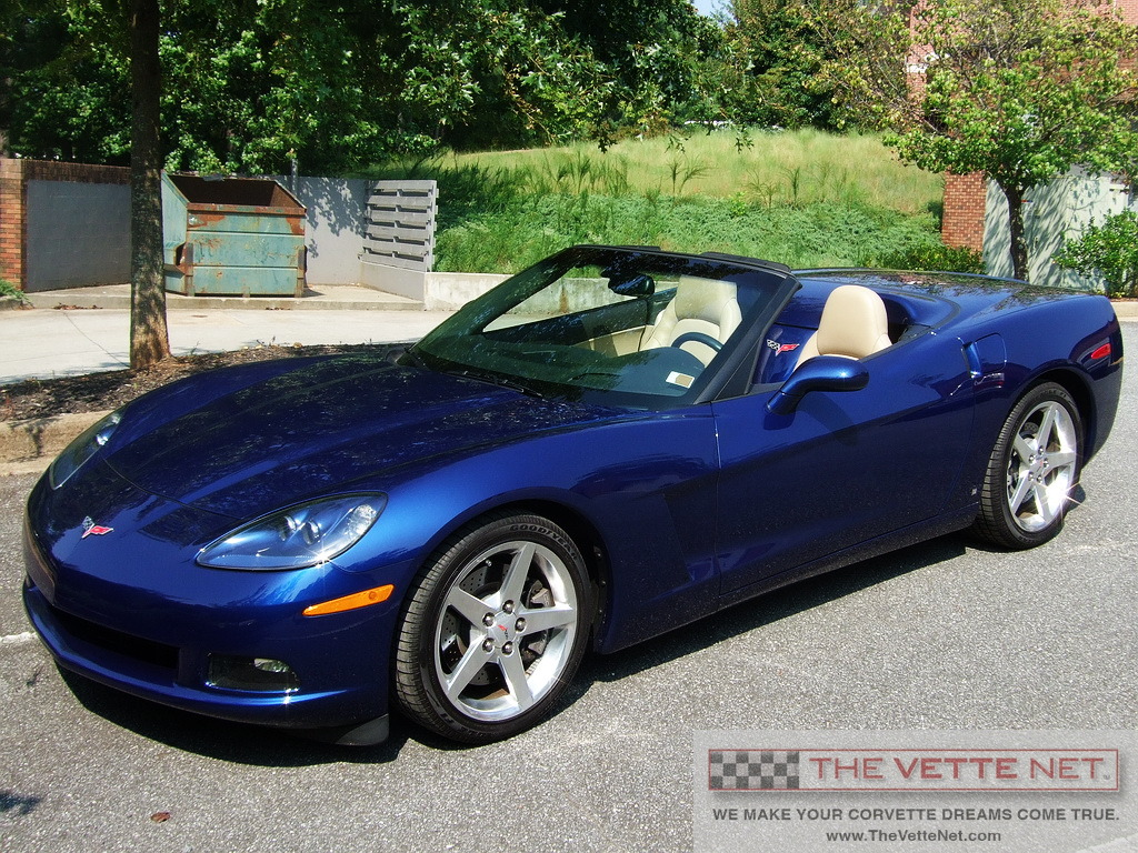 2006 Lemans Blue Metallic Convertible Corvette Corvette News
