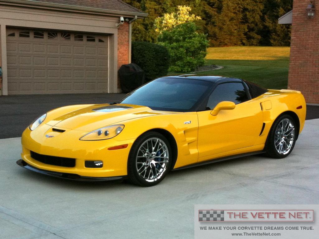 2010 Velocity Yellow Hardtop Corvette Corvette News